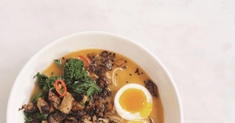 Just-Add-Water Miso, Sweet Potato, and Soba Ramen Recipe