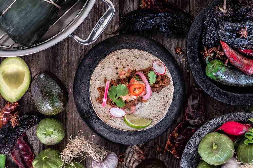 Cinco de Mayo Recipe Alex Chen's Lamb Barbacoa Chef Alex Chen and All-Clad Canada