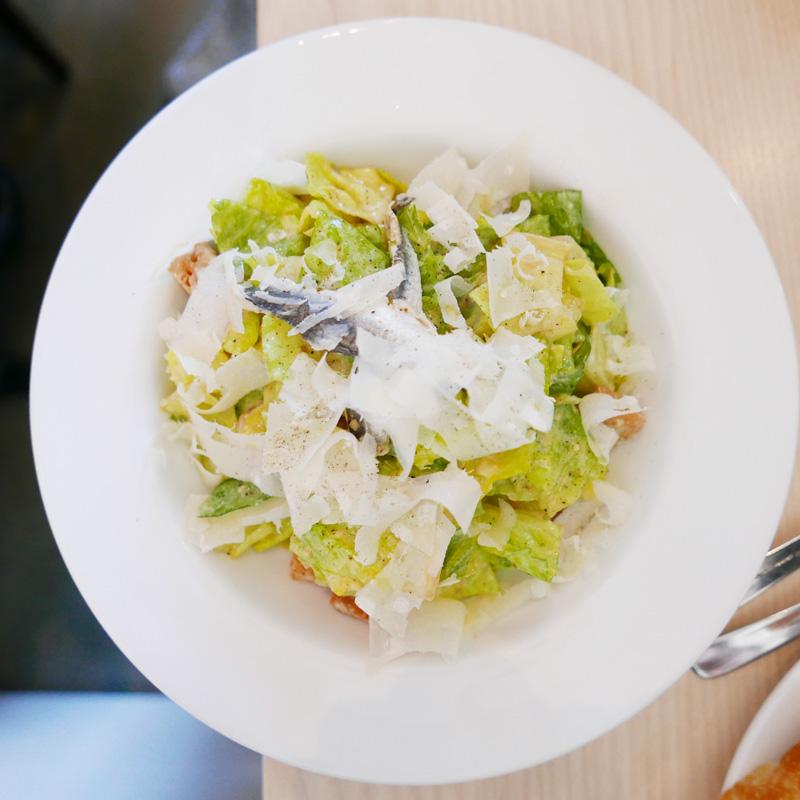 caesar salad AUTOSTRADA OSTERIA VANCOUVER MAIN Nomss.com food wellness blog canada