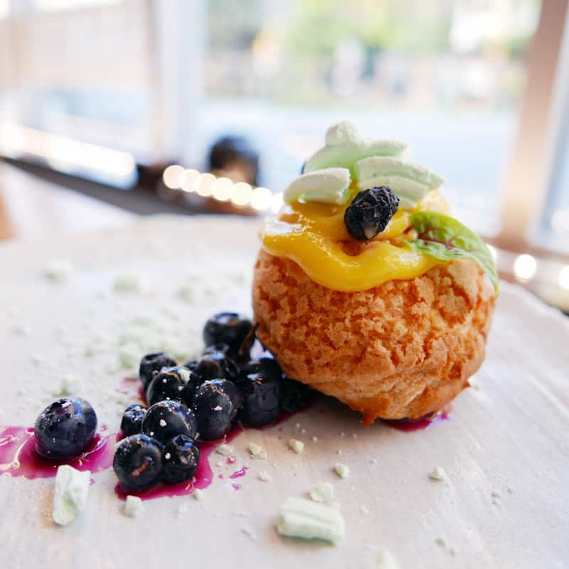 """BC Blueberry """"Go Blue"""" on South Granville Wrap Up Dinner @ The Rise Eatery"""
