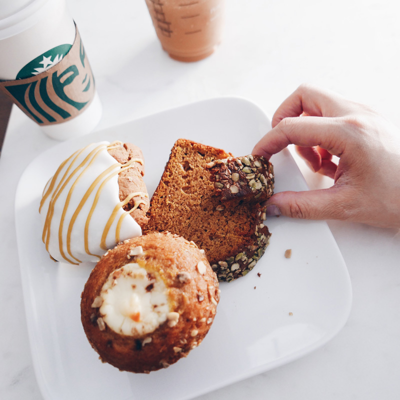 STARBUCKS FALL PUMPKIN SPICE Latte Treats