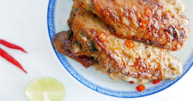Vietnamese Spicy Caramel Turkey Wing Recipe