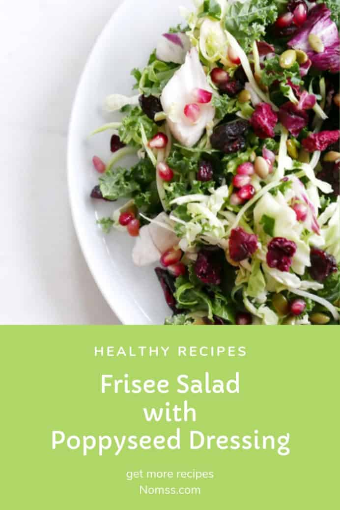 POPPYSEED DRESSING NOMSS.COM CANADA FOOD BLOG #ketorecipes #instamomss #friseesalad #PALEORECIPE #saladdressingrecipe #POPPYSEED