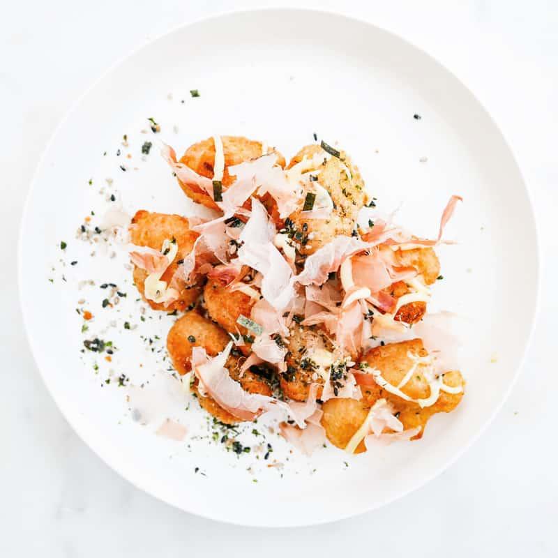 Cauliflower Okonomiyaki