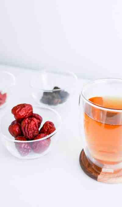 RED DATE LONGAN GOJI TEA 紅棗桂圓杞子茶