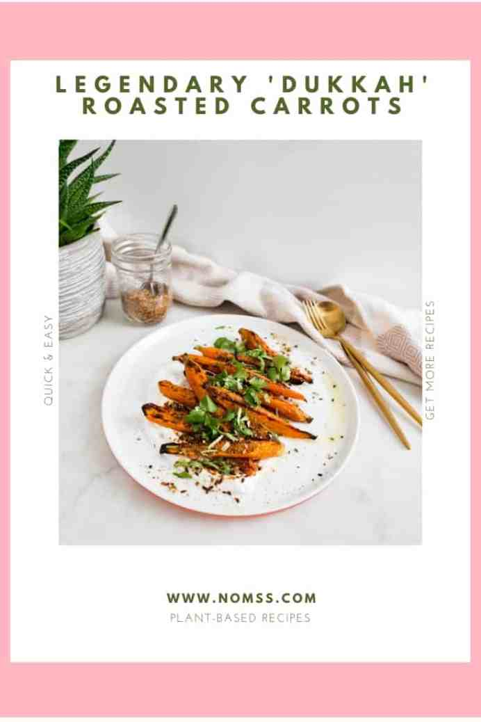 "Legendary 'Dukkah"" Roasted Carrots"