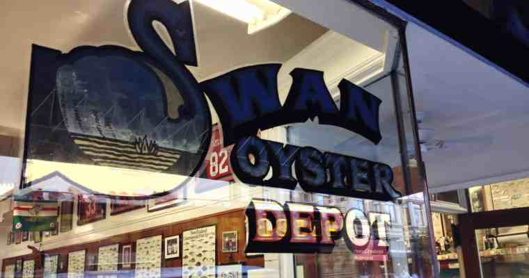 Swan Oyster Depot San Francisco (Nob Hill)   Salmon Sashimi x Clam Chowder