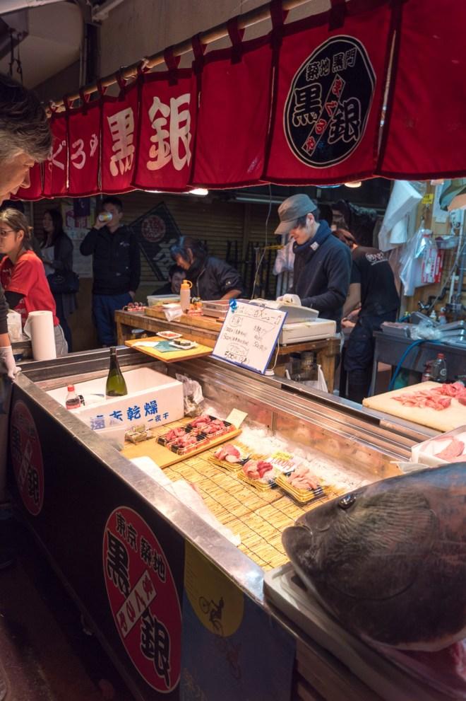 Running low on sashimi
