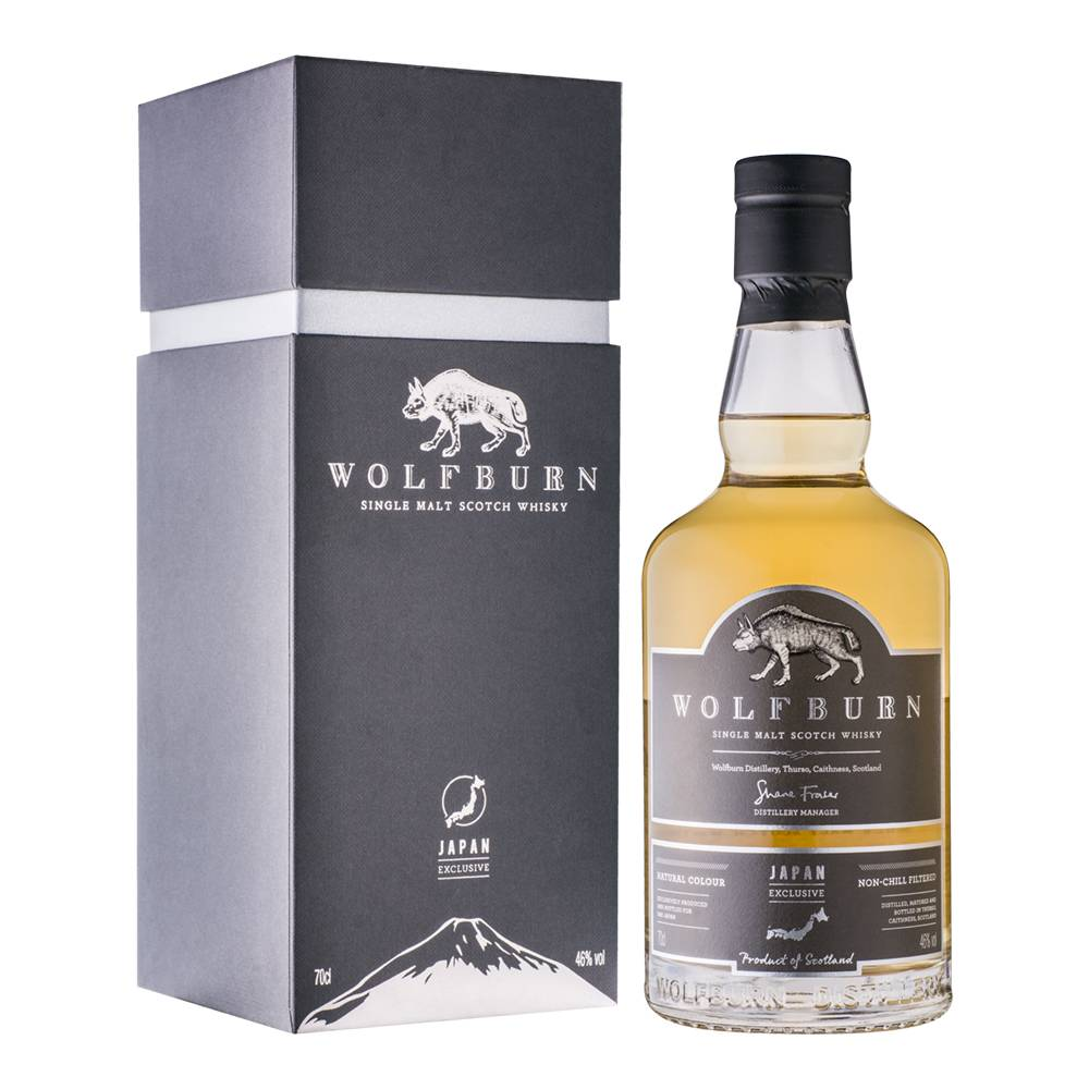 Wolfburn Japan Exclusive bottling announced, only 500 available