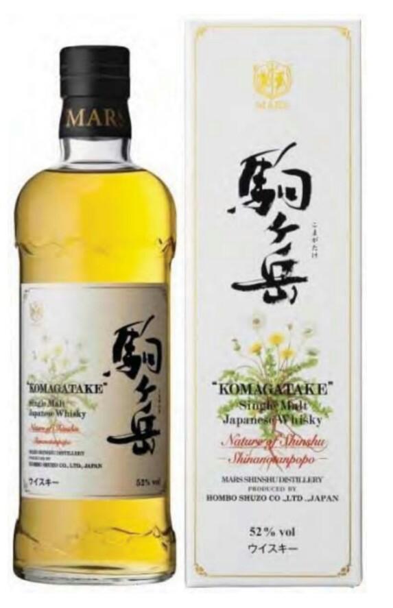 Mars Distillery Single Malt Komagatake Nature of Shinshu Shinanotanpopo