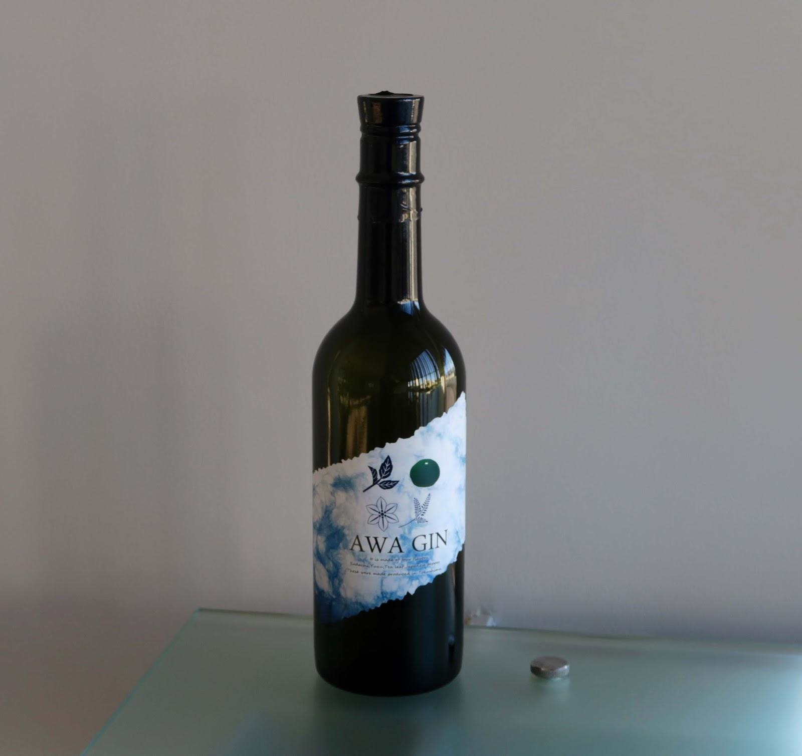 AWA GIN is Shikoku's first Japanese gin