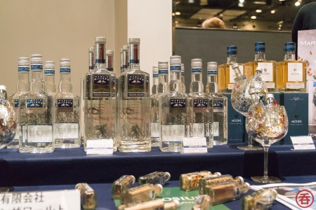 Martin Miller's Gin at the Spin the World booth