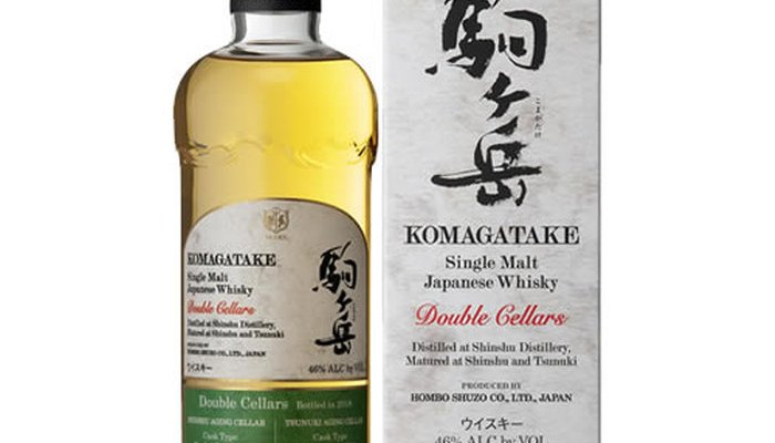 Single Malt Komagatake Double Cellars Bottled in 2018