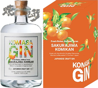 Komasa Gin from Komasa Jyozo coming July 28