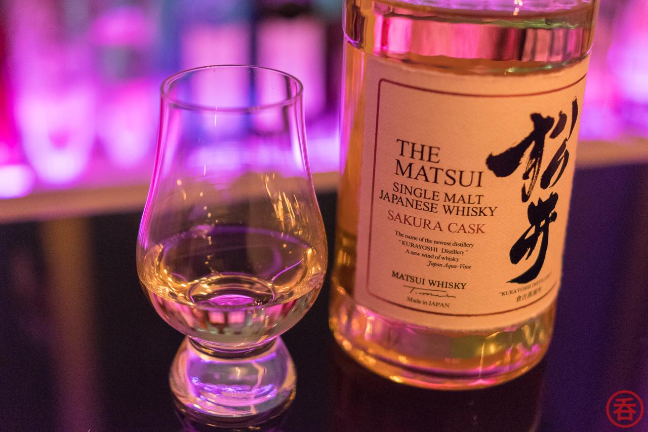 Review: The Matsui Single Malt Japanese Whisky Sakura Cask