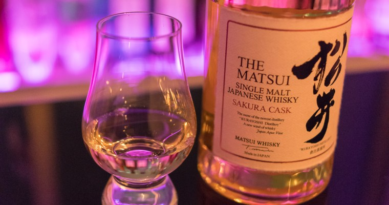 Review: The Matsui Single Malt Japanese Whisky Sakura Cask
