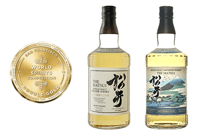 The Matsui Mizunara Cask wins Double Gold at SFWSC 2019
