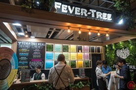 Fever Tree booth also significantly larger!