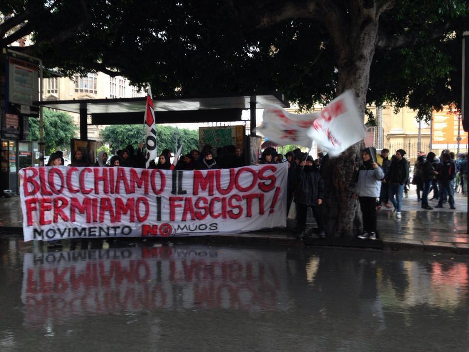 No Muos Torino Antifascista