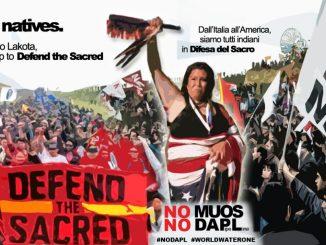 Sioux e No Muos uniti nella lotta
