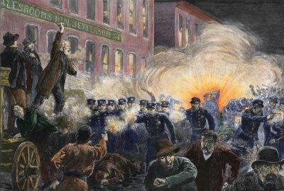The Haymarket Massacre