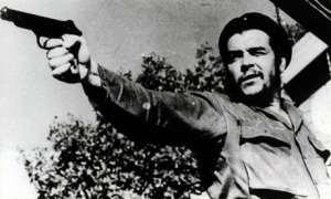 Che Guevara with a handgun