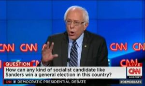 Bernie Sanders on CNN