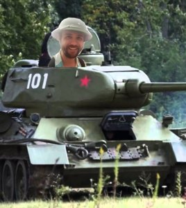 Me in a tank