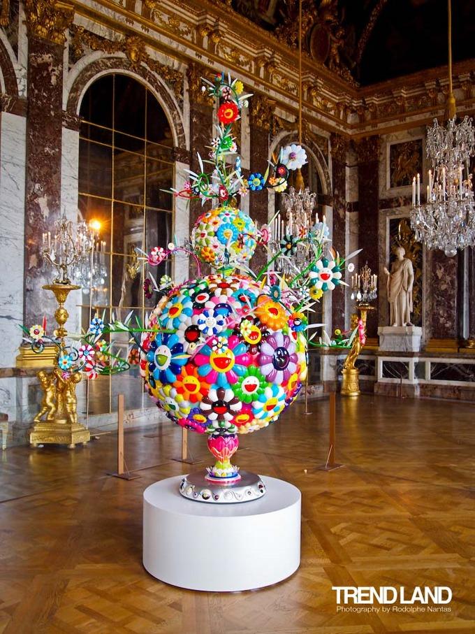 Exposição de Takashi Murakami no Palácio de Versalhes - Foto: Divulgação
