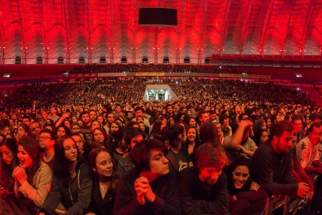 Cerca de 12 mil pessoas saíram extasiadas do novo Anfiteatro Beira-Rio (Foto: Ricardo Almeida/Nonada)
