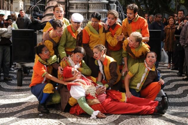 Tribo de atuadores Ói Nóis Aqui Traveiz (Foto:  divulgação)
