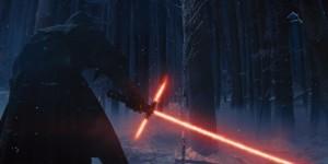 Kylo Ren no lado sombrio da força (Crédito: Disney/Divulgação)
