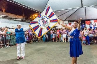 União da Vila do IAPI se apresentando na quadra da imperadores (Foto: Gisele Endres/Nonada)