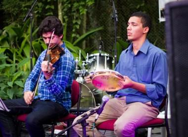 Bandas trouxeram diversidade de instrumentos ao festival (Foto: pedro Rheinheimer)