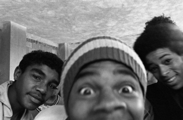 Menor na Febem, em Raposo Tavares (SP), 1979 - Nair Benedicto