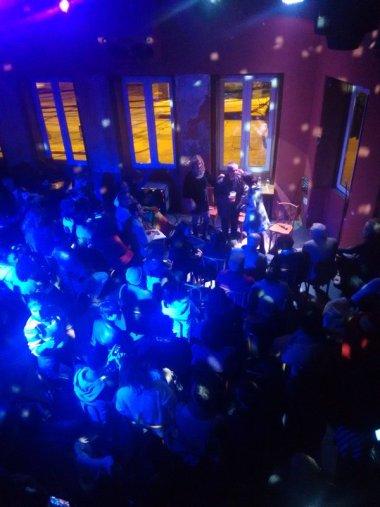Evento lotou o bar Ocidente (Foto: Thaís Seganfredo/Nonada)