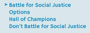 Battle for Social Justice?