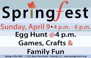 Spring Fest Easter 2017