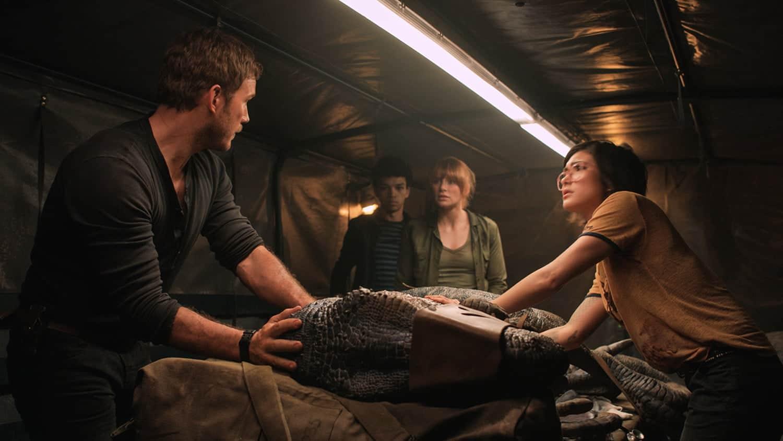 At the Movies | Jurassic World: Fallen Kingdom • Nonahood News
