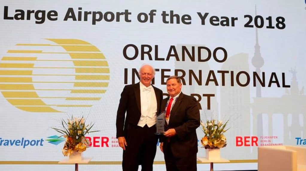 Orlando International Airport Wins Global Airport of the Year Award