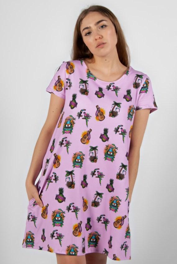 vestido estampado 7