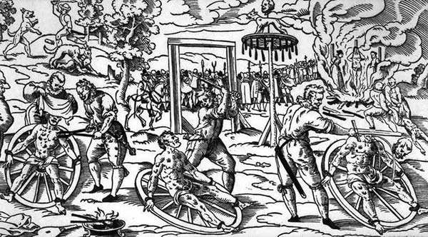 8 La ruota - Torture medioevali