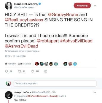 Dana DeLorenzo tweet