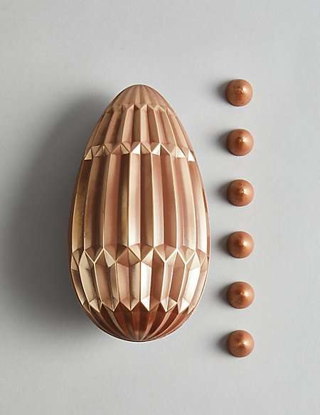 Hand Decorated Belgian Milk Chocolate Colosseum Egg