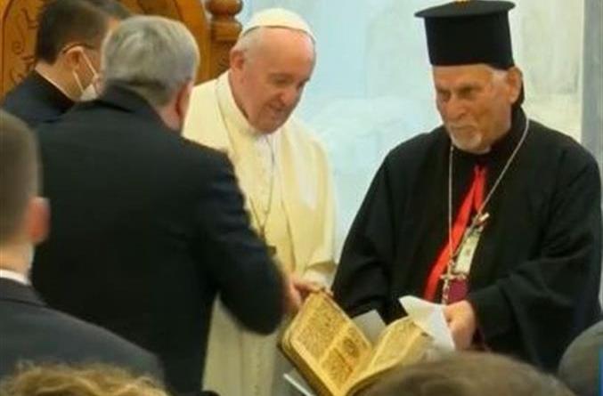 Qaraqosh papa Francesco