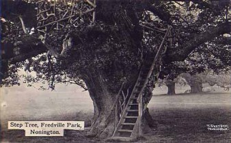 Fredville Park- Clayson post card c1930's