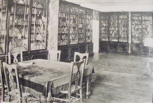 Fredville library pre-WW1
