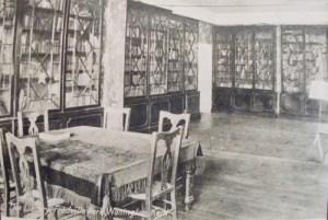 Fredville library pre-WW1