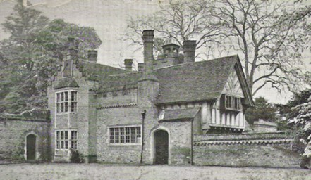 The house viewed from the court-yard
