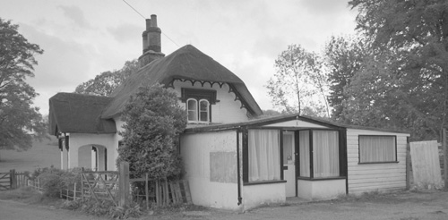 The Lodge Stores, just before the shop was demolished in the late 1990's